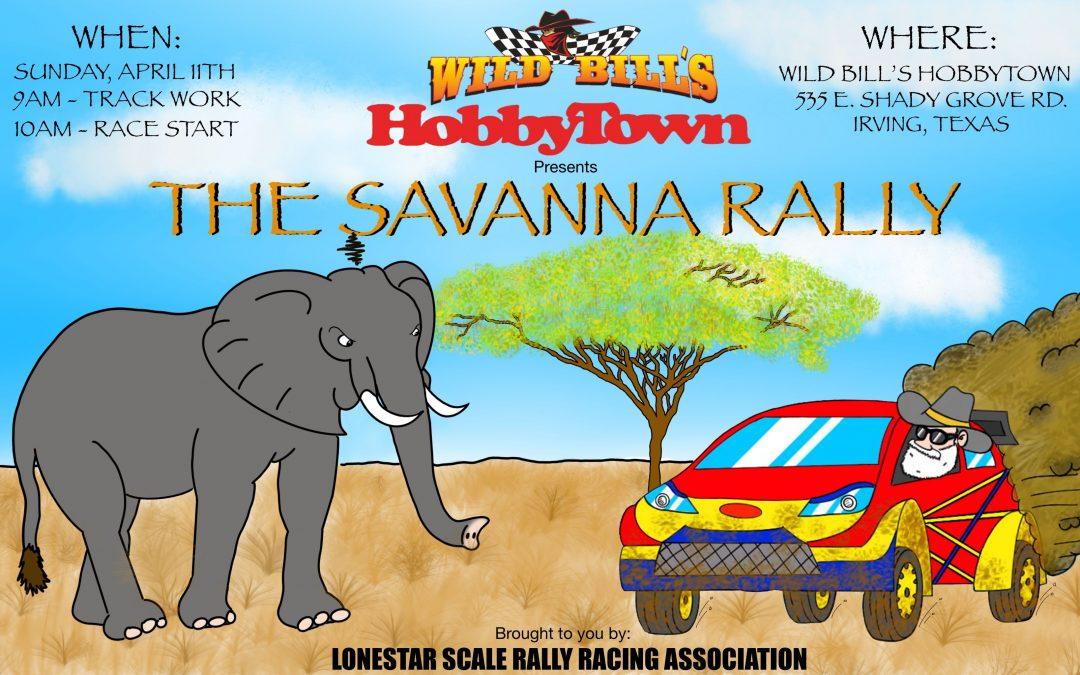 SAVANNA RALLY RACE